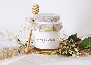 mon petit pot de miel pots de miel personnalis s cadeau mariage original cadeau de bapt me. Black Bedroom Furniture Sets. Home Design Ideas