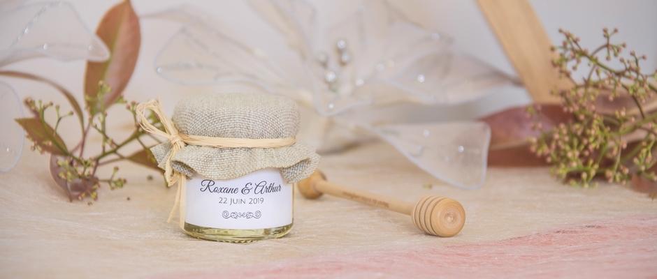 Un Cadeau Dinvité Mariage Original Un Petit Pot De Miel