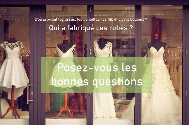 Posez vous la question de savoir qui fabrique les robes de mariées et d'ou viennent les tissus et accessoires ? Alors mariage ecolo ?