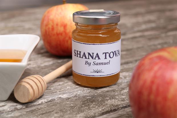 Un Petit Pot de Miel pour Roch Hachana cadeau d'invité