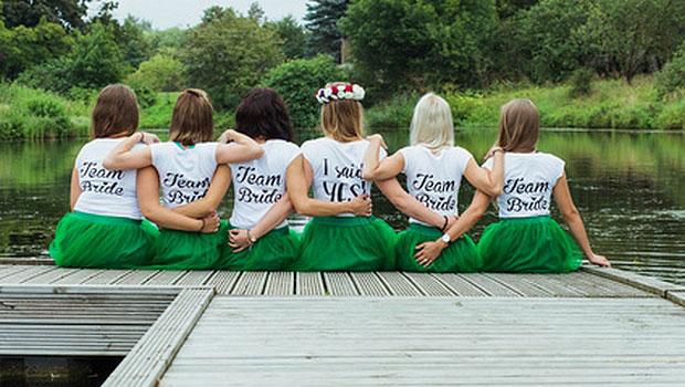 Equipe de la future mariée EVJF