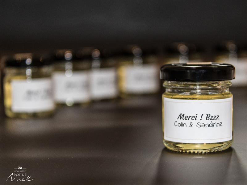 cadeaux d'invité eco responsable offrez du miel à vos invités du miel 100% made in france