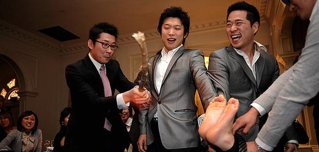 courume d'un mariage en Corée du Sud