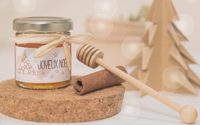 offrez du miel pour noël avec Mon Petit Pot de Miel.com