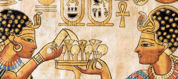 hiéroglyphe égyptienne mariage et miel