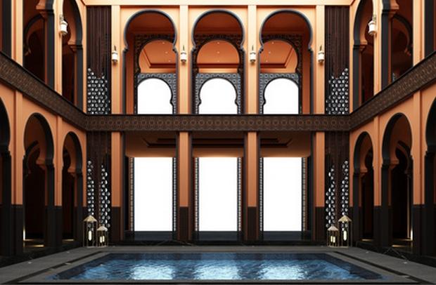 hammam mariage marocain mariage oriental