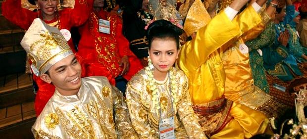coutume d'un mariage à Bali