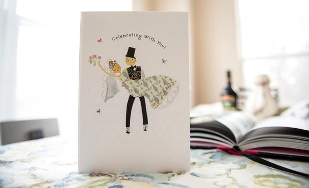 carton d'invitation à un mariage