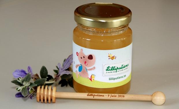 Cadeau publicitaire : du miel 100% butiné et récolté en france pour Mon Petit Pot de Miel