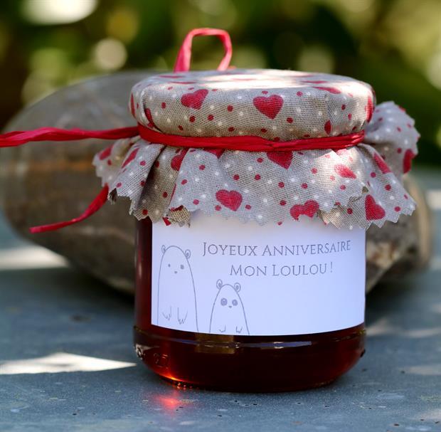 un cadeau d'anniversaire_mon petit pot de miel