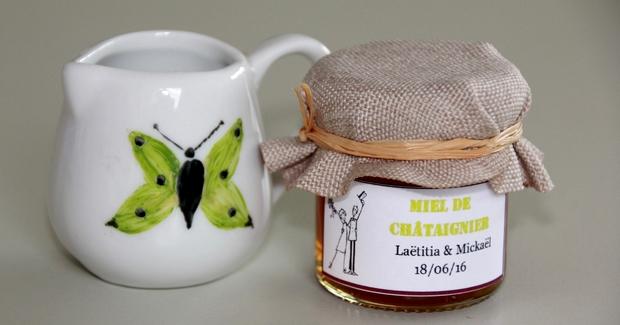 du miel 100% butiné et récolté en france pour Mon Petit Pot de Miel