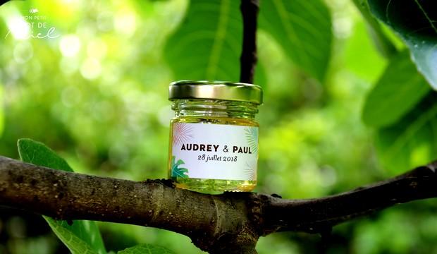 mon petit pot de miel, un cadeau d'invité original pour votre événement