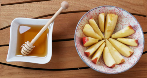 miel et pommes pour Roch Hachana