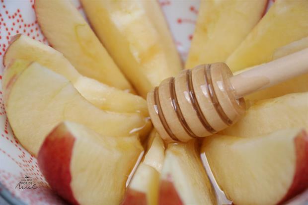 pomme et miel pour Roch Hachana