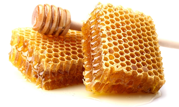 vrai miel en rayon