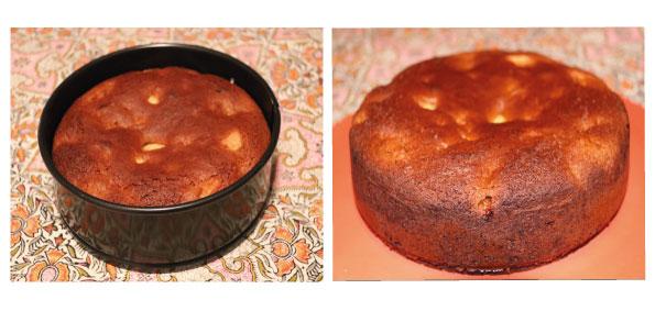recette du pain d'épices au curcuma frais et aux pommes