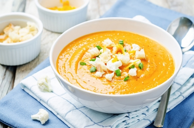 recette de la soupe de patates douces au miel de châtaignier et au curry : recette de Mon Petit Pot de miel