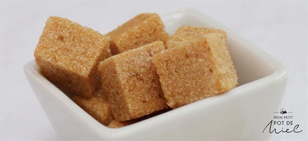 sucre roux en morceaux