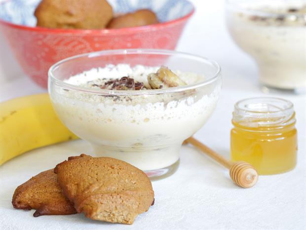 recette du pain d'épices et recette du tiramisu aux bananes caramélisées au miel et au pain d'épcies